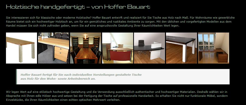 Holztische, Bürotische, Luxus Tische in 74834 Elztal