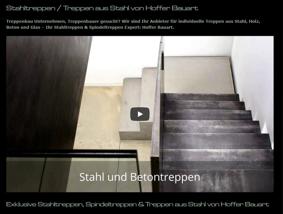 Stahltreppen, Stahlwendeltreppen aus 74226 Nordheim