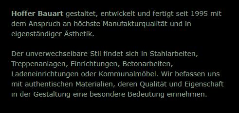 Treppenbau, Edelstahltreppen für  Schöntal